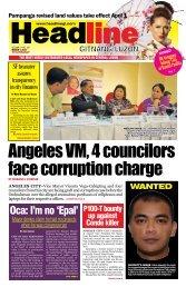 Oca: I'm no 'Epal' - Headline Gitnang Luzon