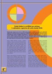 Podat žádost o certifikát pro přístup k základním ... - Egovernment
