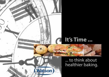 It's Time ... - Snack Food & Wholesale Bakery
