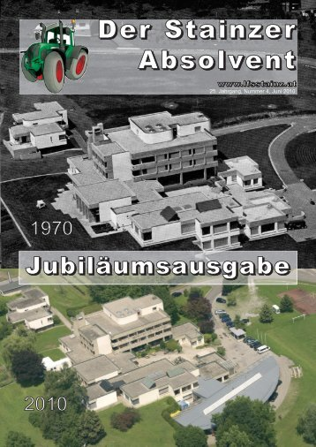 50 Jahre weststeir. Bauernschule 40 Jahre Land - LFS Stainz