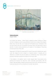 Press Release - Galerie Quynh