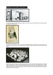NEREALIZOVANÉ PROJEKTY - Muzeum umění a designu Benešov