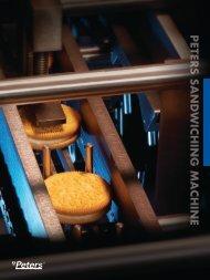 Peters Sandwiching Machine - Snack Food & Wholesale Bakery