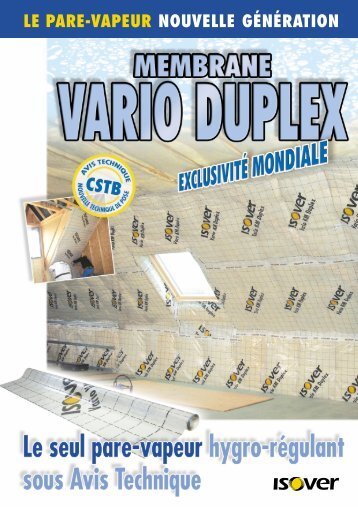 240 free magazines from isover fr - Membrane vario duplex ...