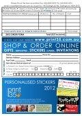 Sticker Order Form - Page 2