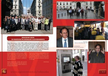 pracovní cesta za rakouským modelem e-governmentu