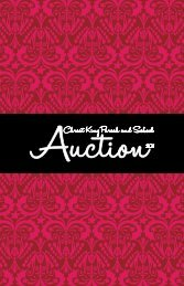 The Auction Book - Christ King School