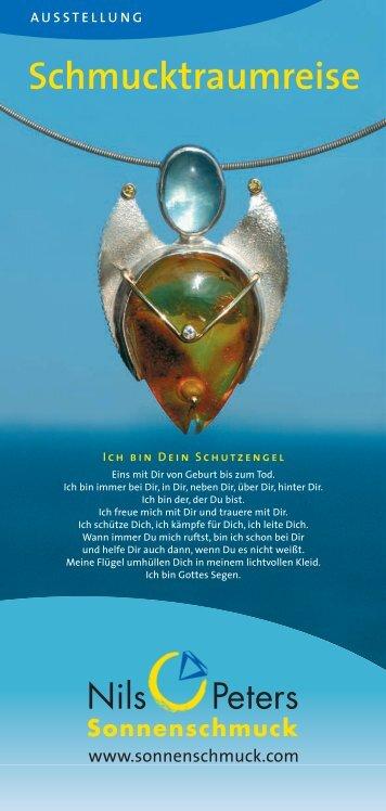 Einladungskarte - Nils Peters Sonnenschmuck