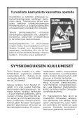Rauhallista Joulua ja Iloista Uutta Vuotta - Turun Seudun Invalidit ry. - Page 7