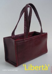 Leather handmade bags - TuttoAttaccato