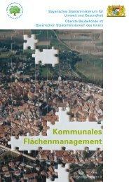 Kommunales Flächenmanagement - Bayerisches Staatsministerium ...