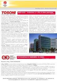 Newsletter n. 09 gennaio 2007 - Gruppo Industriale Tosoni