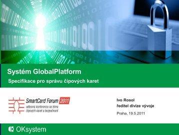 IVO ROSOL - SmartCard Forum 2011