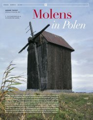 Molens in Polen - vakbladvitruvius.nl
