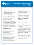 What is designated Supportive Living Level 4 (SL4)? - Page 2