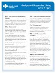 What is designated Supportive Living Level 4 (SL4)? - Page 3