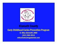 Early Childhood Caries Prevention Program - Advantage Dental