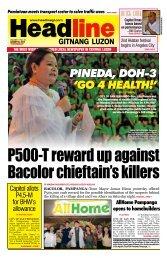 pineda, dOH-3 'GO 4 HealtH!' - Headline Gitnang Luzon
