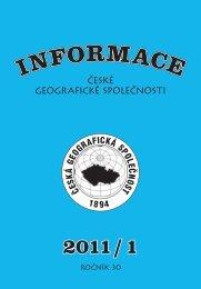 icgs012011 - Česká geografická společnost