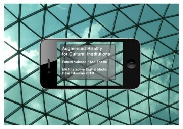 augmented reality for museums - Kabk