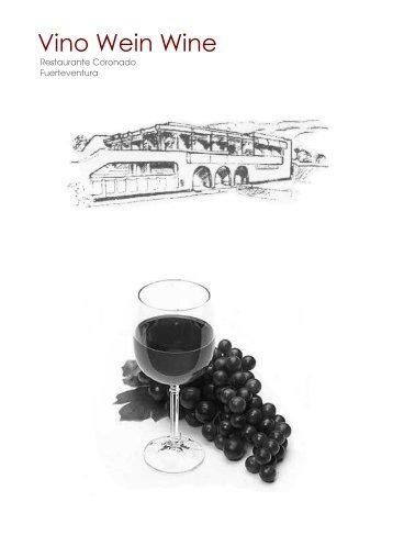 Vino Wein Wine - Restaurante Coronado
