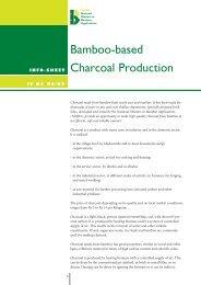 Bamboo-based Charcoal Production - nmba