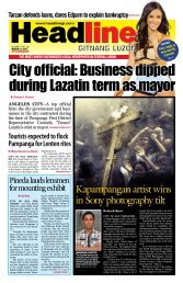 City official: Business dipped during Lazatin term as mayor City ...