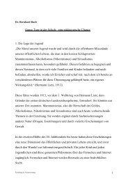 Vortrag Dr. Bernhard Bueb zur Ganztagsschule