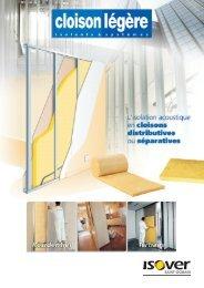 isolation des cloisons légères - Isover