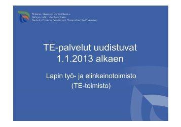 Tero Hyttinen: TE-palvelut - Sosiaalikollega