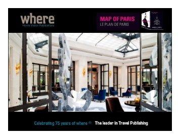 Media Kit Luxury Map Eng - Where Paris