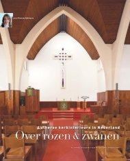 Lutherse kerkinterieurs in Nederland - vakbladvitruvius.nl