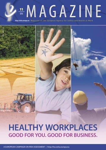 Magazine 11 - EU-OSHA - Europa
