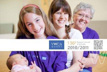 Rapport annuel d'activités 2010-2011 - YWCA Québec