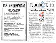 Edisi 179 - 23 Maret 2009 - Dunia Kita