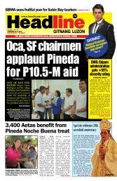 city of san fer - Headline Gitnang Luzon