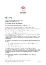 Qigong und Tinitus_0.2 - Qi Gong Oberkassel