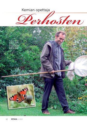 Perhosten pauloissa - Kemia-lehti