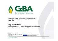MATĚJKA JAN: Perspektivy a využití biometanu - TOP EXPO CZ