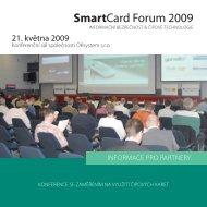 Informacni brozura - SmartCard Forum 2009