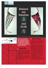 Balance aus Emotion und Kraft - Emmerich Exclusivbrillen
