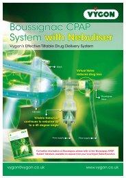 Boussignac CPAP with Nebuliser (300KB) - Vygon (UK)