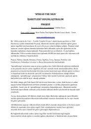 10.Spread The Sign Projesi - Engelsiz Üniversite Birimi