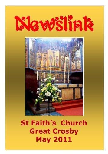 St Faith's Church Great Crosby May 2011 - St Faith's home page
