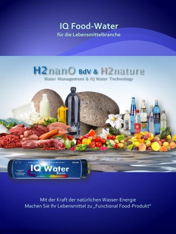 IQ Food Water - h2nature.de