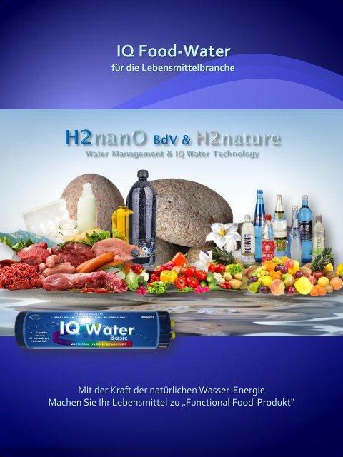 IQ Food Water - h2nature.de