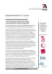 pdf Download - Allianz für den freien Sonntag - Bayern
