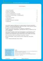 Verzuim Algemene Ziekenhuizen - 2e kwartaal 2012 - StAZ
