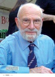 Oliver Sacks - Kemia-lehti