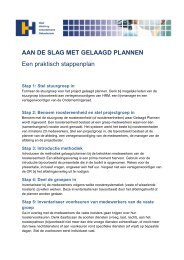 Stappenplan gelaagd plannen - StAZ